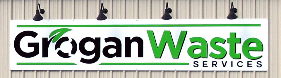 Grogan Waste Services sign