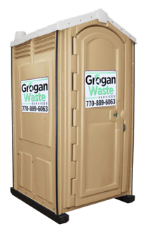 Porta Potty Portable Toilet Rental from Grogan Waste Services