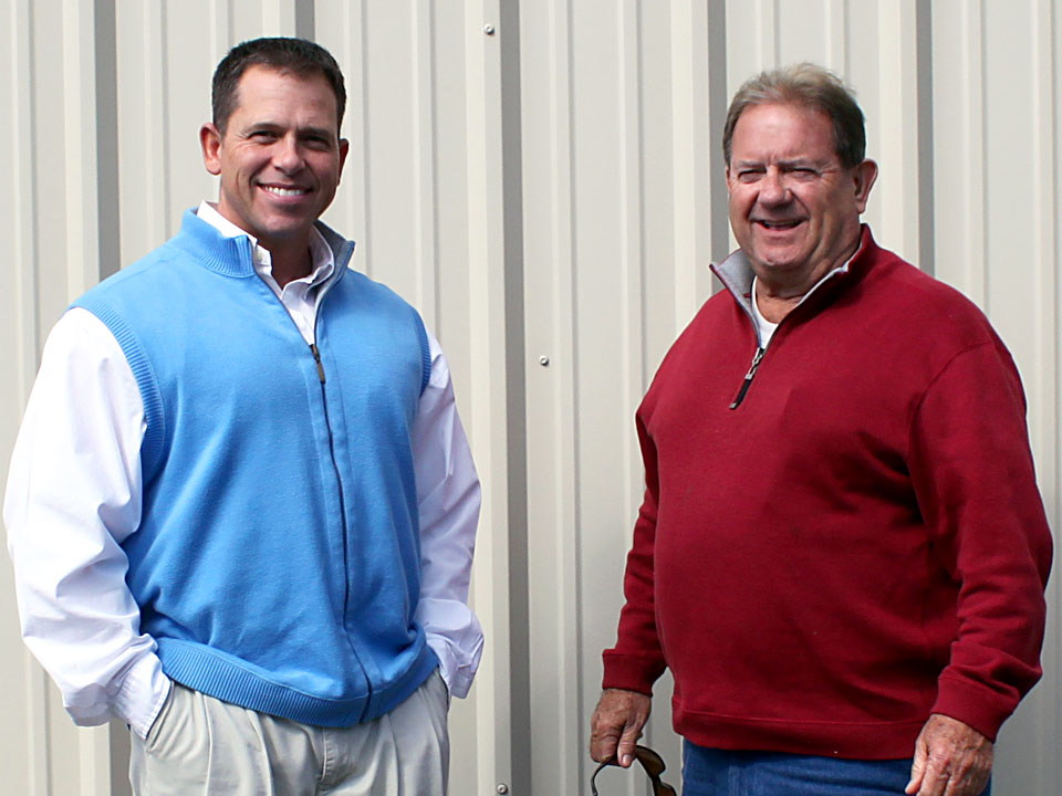 Chris Grogan and his father Jim Grogan - Owners of Grogan Waste Services