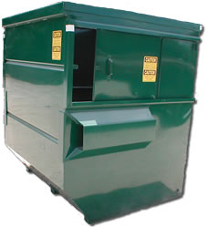 front-loading-container-eight-cubic-yard-dumpster-grogan-waste-services-georgia
