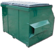 front-loading-container-four-cubic-yard-dumpster-grogan-waste-services-georgia