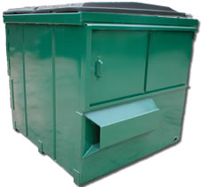 front-loading-container-six-cubic-yard-dumpster-grogan-waste-services-georgia