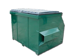 4 Cubic Yard Dumpster from Grogan Waste Services