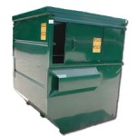 Front Loading Container - 8 cubic yard