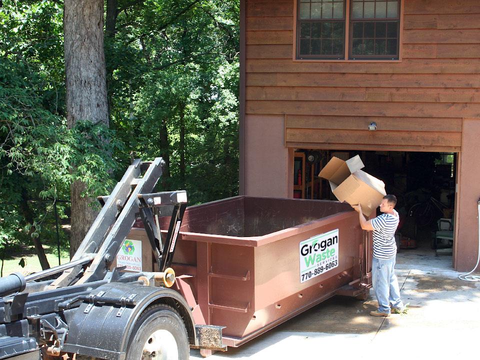 Grogan Waste Services - Residential Dumpster Rentals