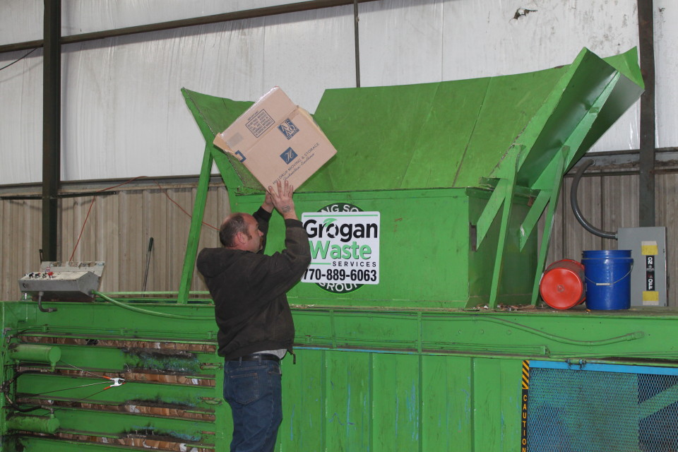 Grogan Waste Recycling Services - Cardboard