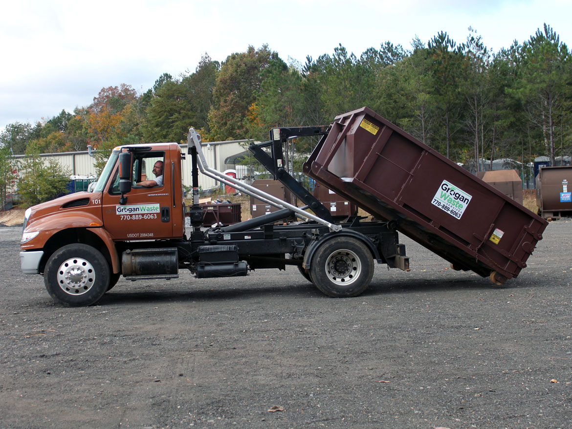 Residential Waste Roll-Off Dumpster