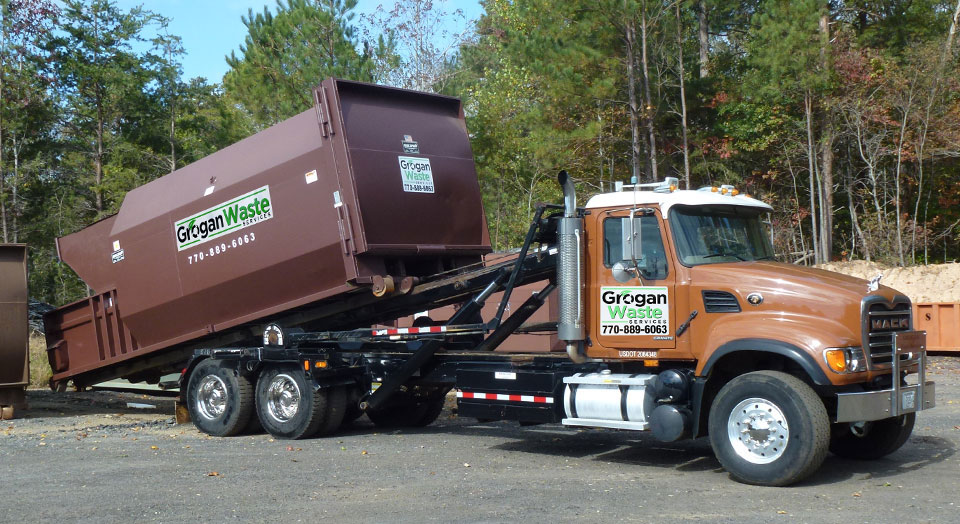 Roll-off dumpsters, front loading containers and waste compactors.