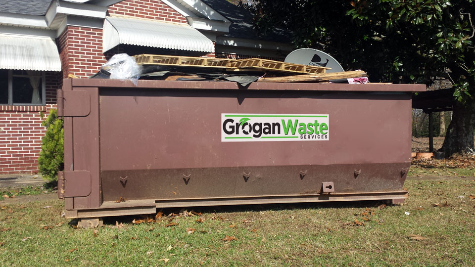 Dumpster rental for roofing jobs roof repair replacement